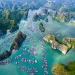 The legend of the islands and caves of Halong Bay