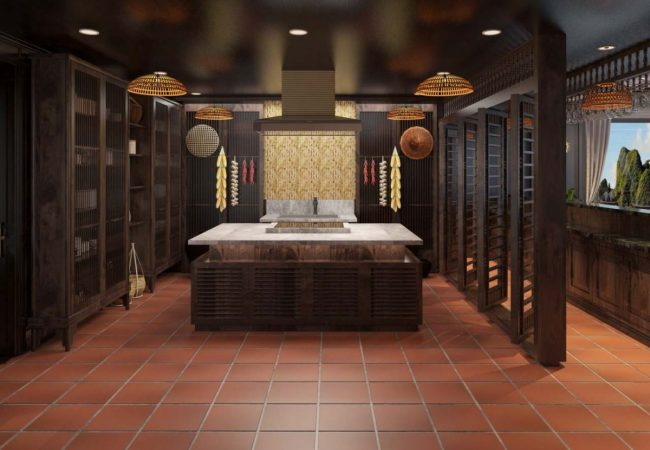 Feng Shui Experience is shown via the whole space of Heritage Cruises