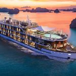 Touching Vietnam's heritage on a masterpiece in the natural wonder of Halong Bay.