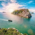 If being crowded in Halong Bay, let's find a luxury cruise in Cat Ba Island